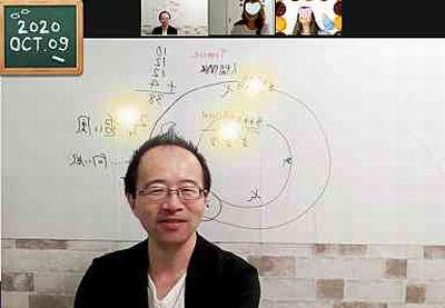 【教室の様子】銀座校&Zoom 西洋占星術講座(4回コース第1講)